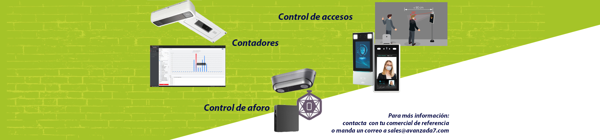 acceso personas contadores control