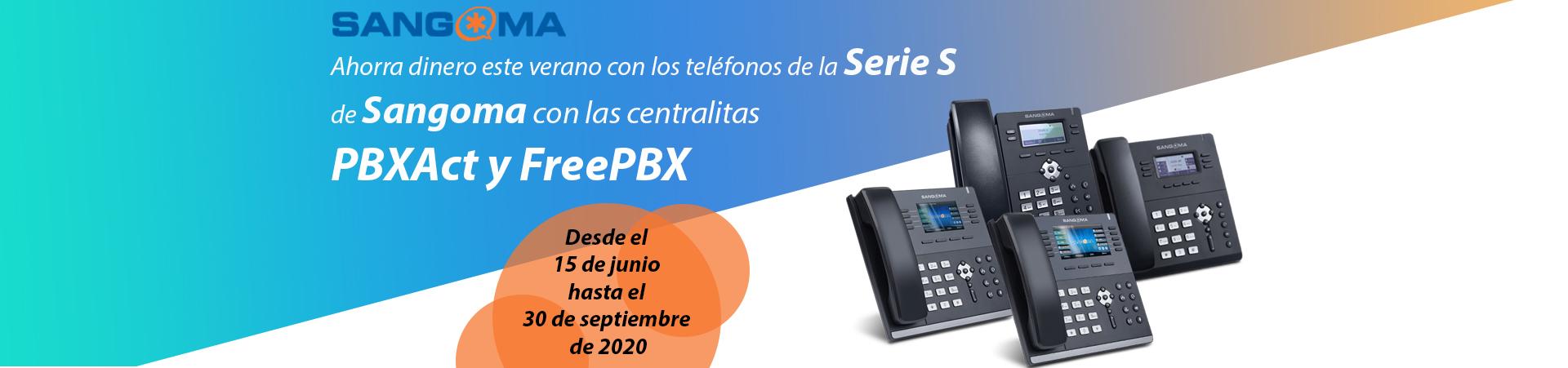 Sangoma Serie S PBXact FrePBX