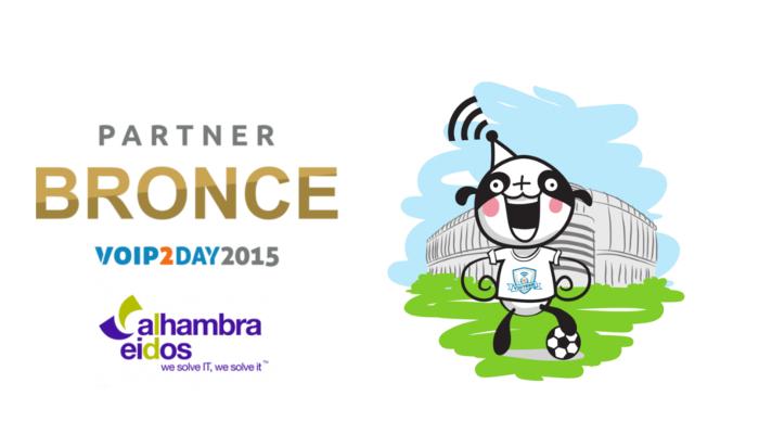 Imagen: Alhambra-Eidos, new bronze sponsor of VoIP2DAY 15
