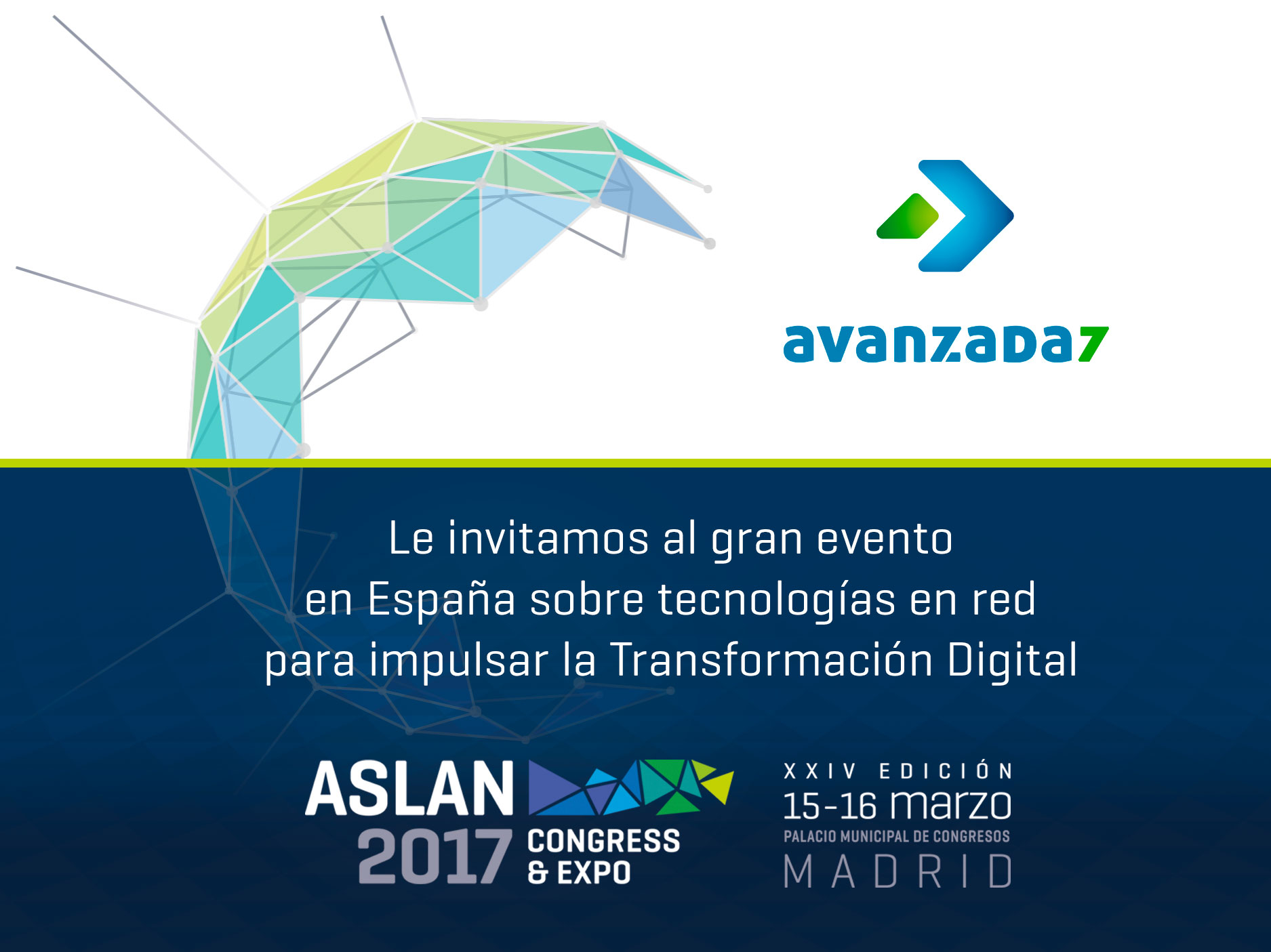 Imagen: See you in ASLAN! | March 15th -16th in Madrid