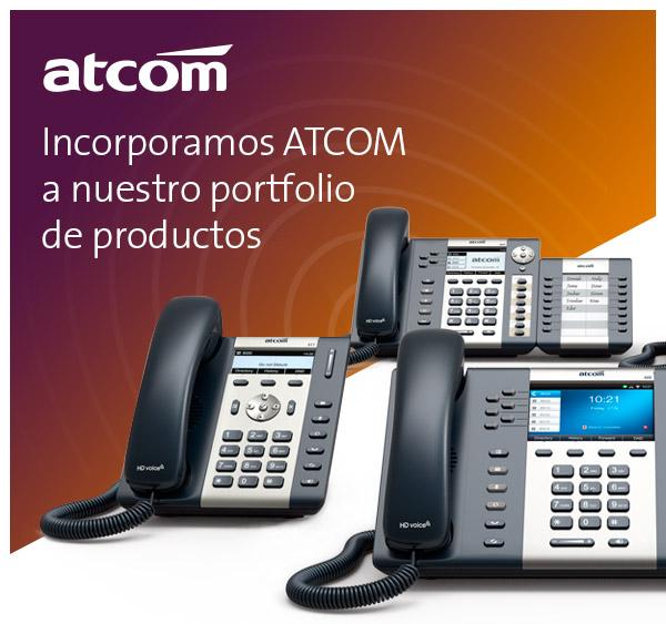 Imagen: We incorporate ATCOM into our product portfolio