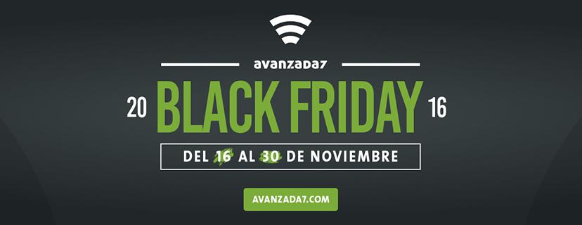 Imagen: Black takes over our online shop...