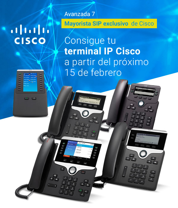 Imagen: New Cisco IP Phones | Available since February 15th at Avanzada 7 online store