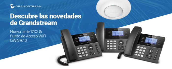 Imagen: New 17XX Series and Wireless Access Point GWN7610 of Grandstream