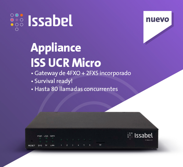 Imagen: We present you the new Issabel ISS UCR Micro Appliance Discover all its features!