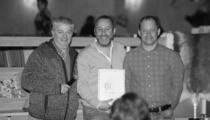 Imagen: Avanzada 7 receives the Largest Growth Award Konftel 2016
