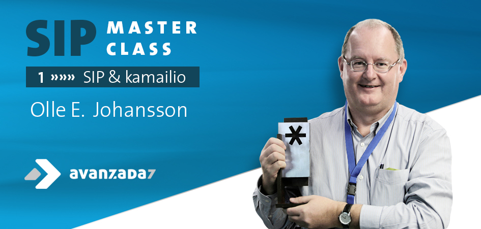 Imagen: Learn SIP and Kamailio with Olle E. Johansson!