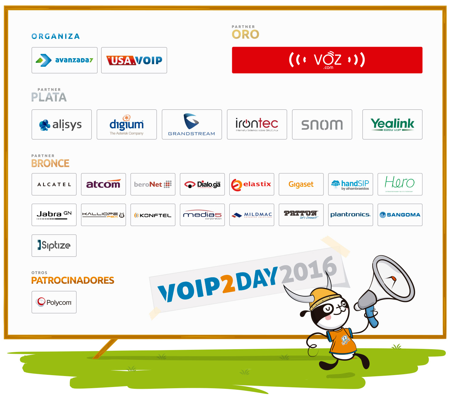 Imagen: Which companies will join us in VoIP2DAY 2016?