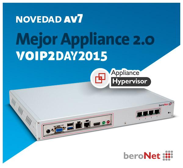 Imagen: We present...the new beroNet Appliance BNTA2.0