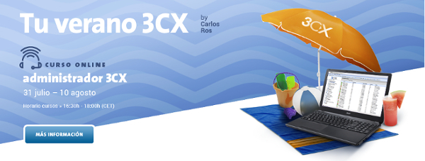 Imagen: 3CX Administrator Course | July 31th to August 10th