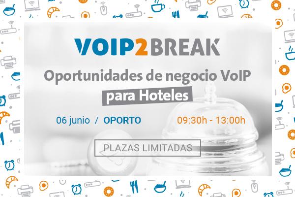 Imagen: VoIP2BREAK | 06 June OPORTO