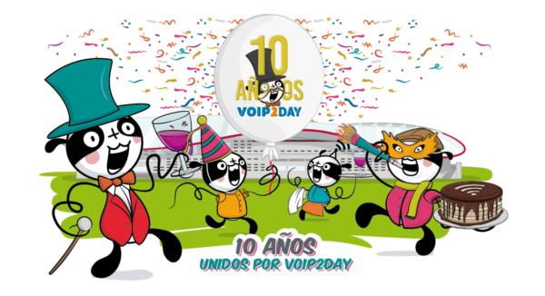 Imagen: 10º Aniversario de VoIP2DAY - 15 y 16 Noviembre