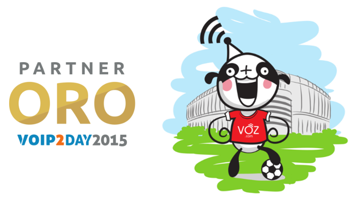 Imagen: VOZ.COM will be Gold Sponsor in their third consecutive year in VoIP2DAY