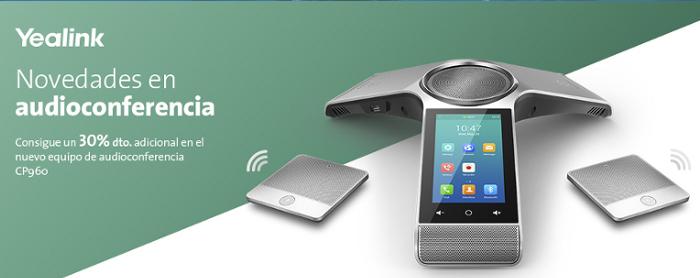 Imagen: New Yealink CP960 Audio Conferencing Equipment