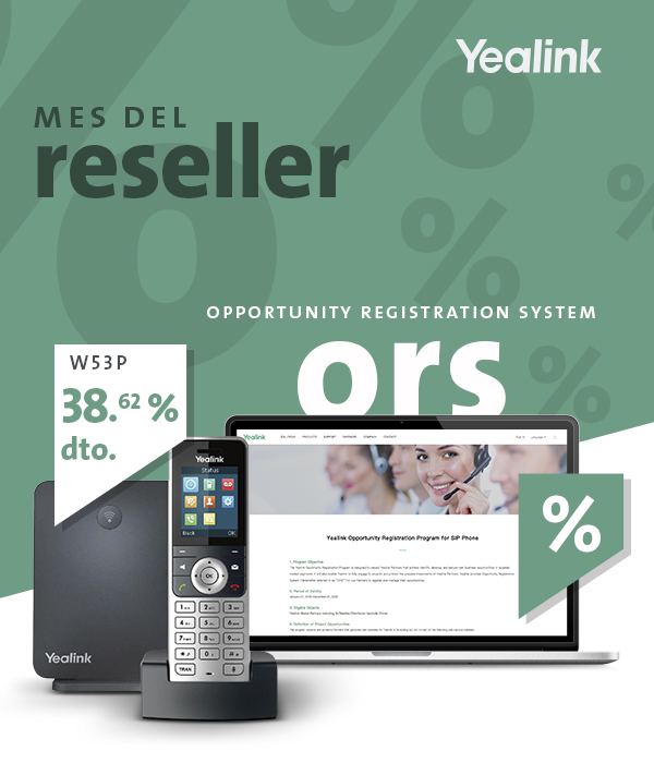 Imagen: Yealink promotions for reseller customers