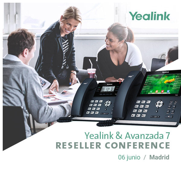 Imagen: Yealink Reseller Conference | Tuesday, June 6th - MADRID