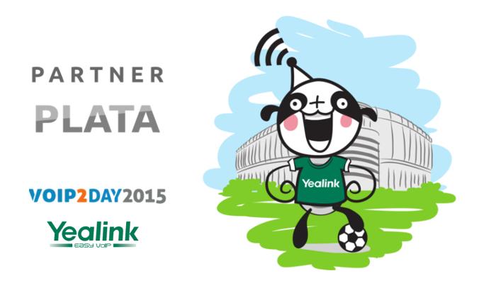 Imagen: Yealink, new silver sponsor of VoIP2DAY15