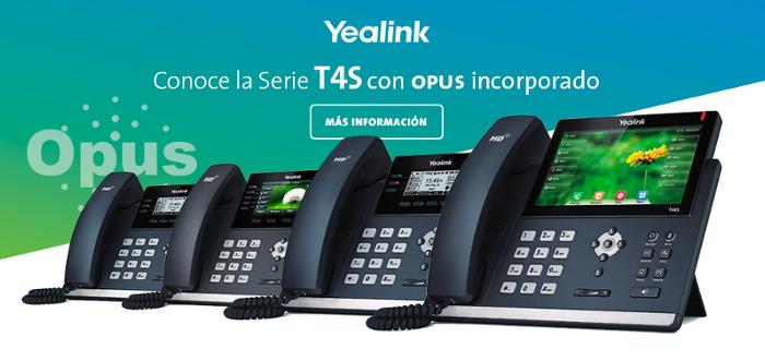 Imagen: What's new Yealink with OPUS codec...