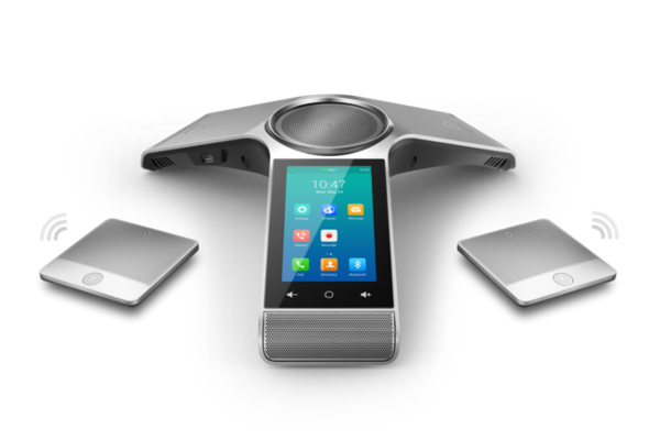Audio conferencing kit with two expansion microphones CPW90 with bluetooth and wifi already available in Avanzada 7