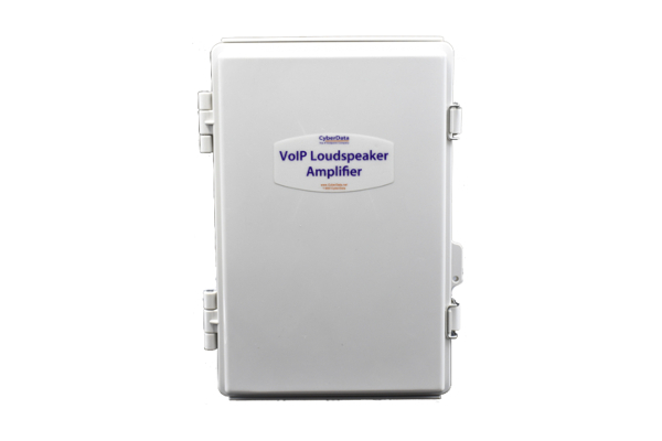 VoIP Amplifier Cyberdata 011404 with PoE (802.3af or 802.3at) already available in the online store of Avanzada 7