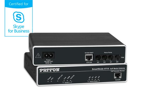 Imagen 1: Gateway Patton SN4112 - 2FXS
