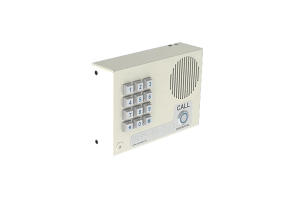 Imagen 1: Cyberdata VoIP intercom Keypad signal white