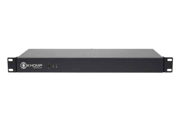 Khomp KMG 200MS Gateway with 1 E1 / T1 link and option to expand with modules already available in Avanzada 7