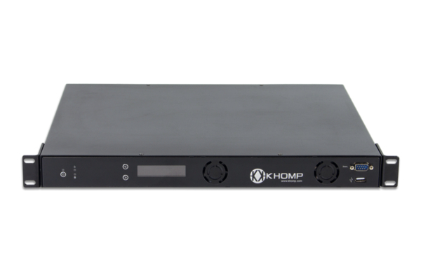 Khomp SBC 750 gateway with capacity up to 32 E1 / T1 or 960 telephony channels already available in Avanzada 7