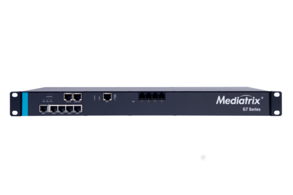 Gateway Mediatrix G7 that incorporates 1 port PRI and 4 ports FXS already available in the online store of Avanzada 7