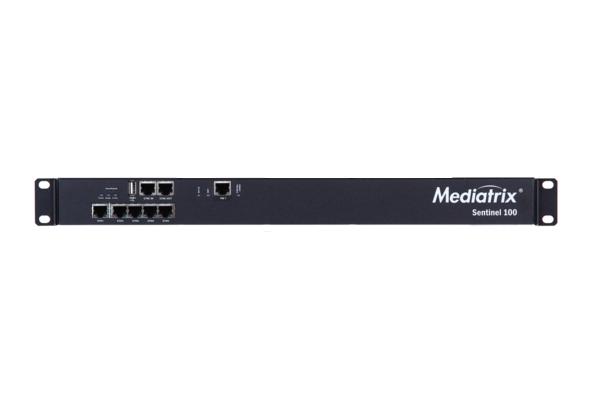 Mediatrix Gateway with SBC that incorporates 5 Gigabit 10/100 / 1000Mbps RJ45 ports already available in Avanzada 7