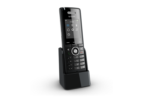 Snom M65 DECT advanced phone, PSU&charger included