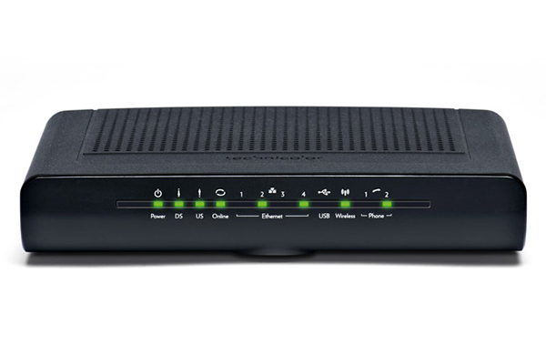 how to connect technicolor wps on router