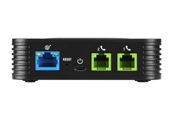 Gateway Grandstream ATA HT802 with 1 Ethernet ports