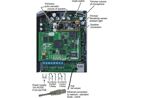 Imagen 2: Alphatech Slim IP01 SIP Doorphone with 1 button