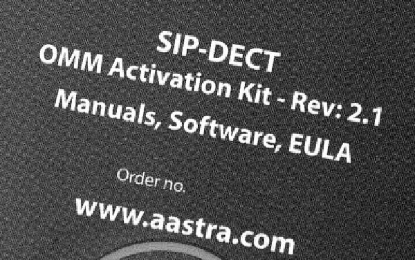 Imagen 2: Activation license Mitel RFP V2 (up 20 Mitel DECT bases)