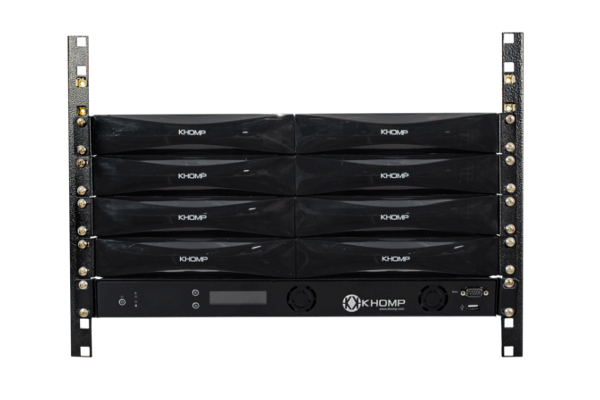 Khomp SBC 750 gateway with 450 VoIP channels already available in the Avanzada 7 online store