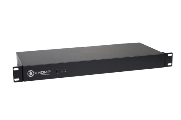 Khomp SBC 90 modular gateway with integrated SBC, up to 300 SBC VoIP sections in bridge mode