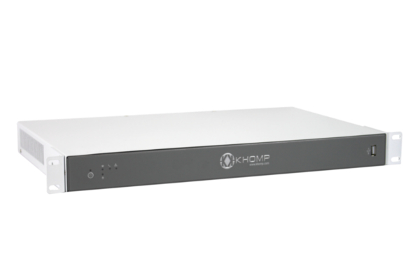 Khomp UMG Server Modular with 3 slots for the desired combination of VoIP technologies already available in Avanzada 7