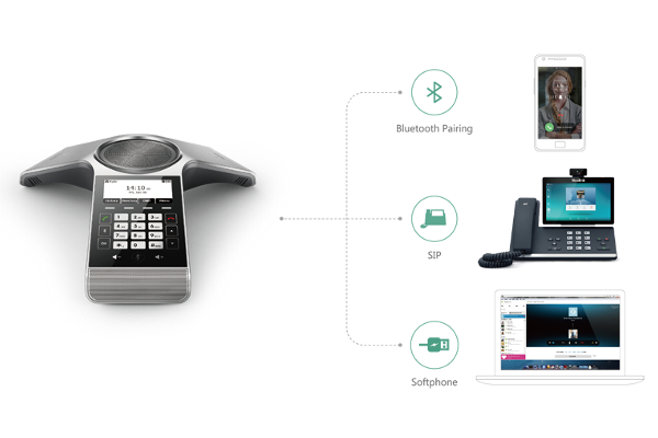 Yealink CP920 audio conference with WiFi, Bluetooth and touch screen ideal for small and medium businesses