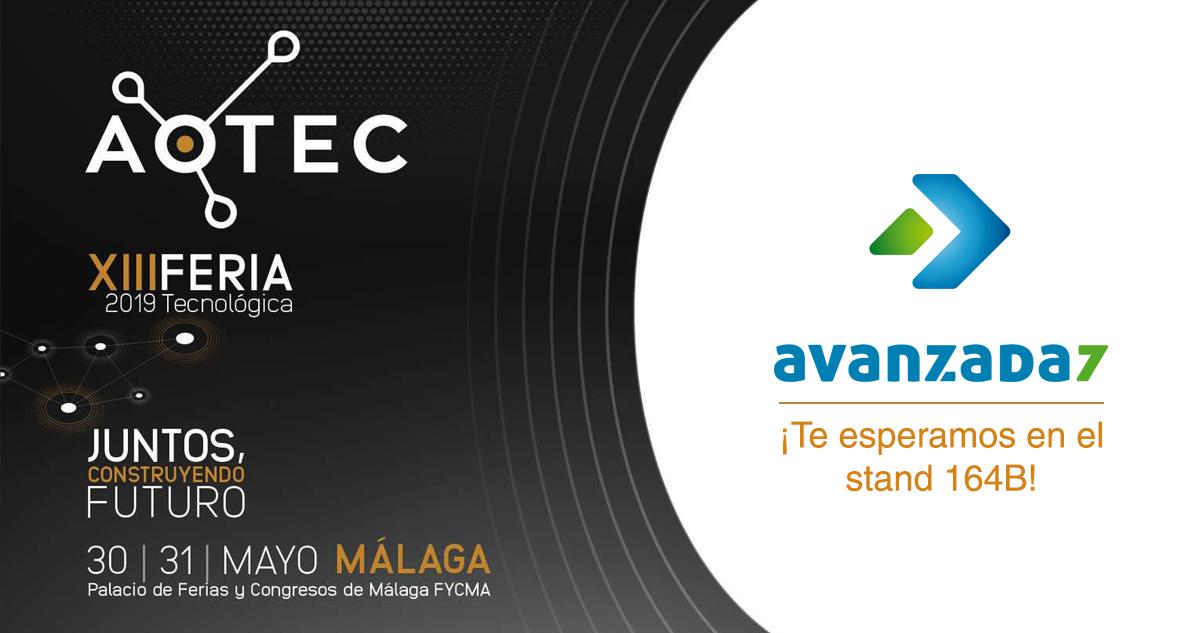 Imagen: ¡Estaremos en AOTEC! | 30 - 31 Mayo en Málaga