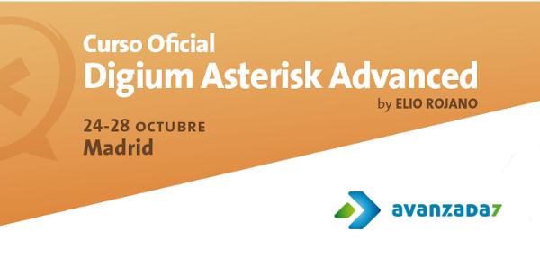 Imagen: Digium Asterisk Advanced Oficial | 24 -28 OCtubre | Madrid