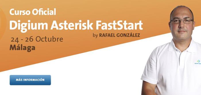 Curso FastStart Asterisk 24-26 octubre l Málaga - Avanzada 7