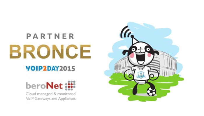Imagen: beroNet se une al equipo de patrocinadores BRONCE en VoIP2DAY