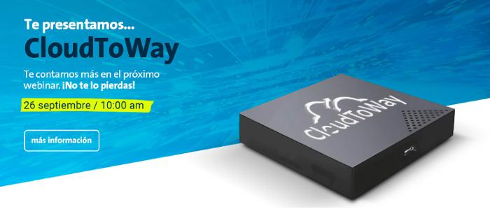 Imagen: Webinar CloudToway : Monitorización y control fácil con CloudToWay