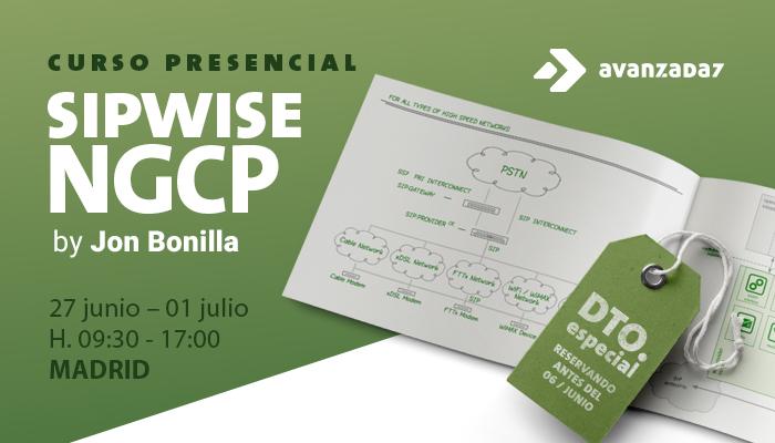 Imagen: Curso SIPWISE NGCP | 27 Junio al 01 Julio | Madrid
