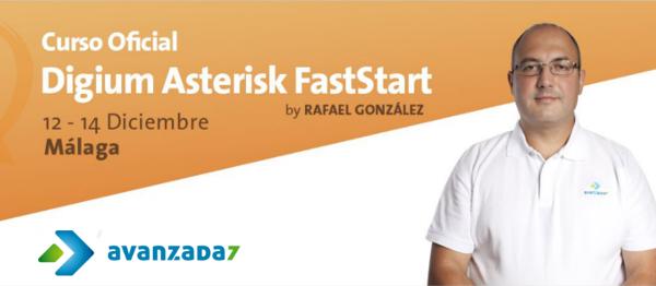 Imagen: Curso Asterisk FastStart | 12-14 diciembre | Málaga