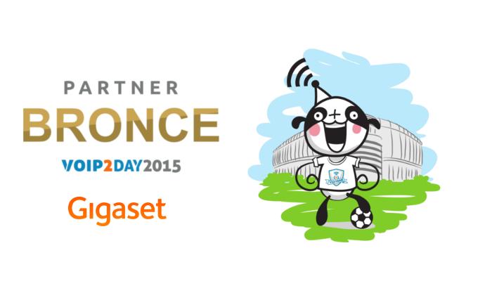 Imagen: ¡Gigaset patrocina un año más VoIP2DAY 2015!