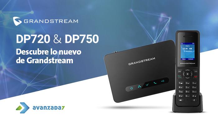 Grandstream DECT DP720 y DP750 - Avanzada 7