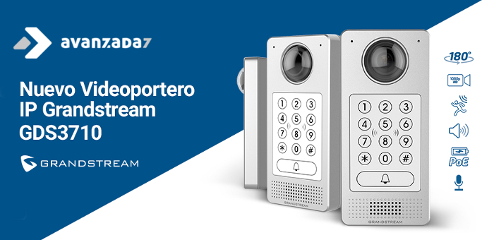 Grandstream videoportero IP GDS3710 - Avanzada 7