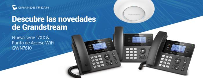 Imagen: Nueva Serie 17XX y Puntos de Acceso WiFi GWN7610 de Grandstream
